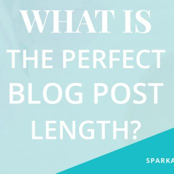 spark and profit blog post length