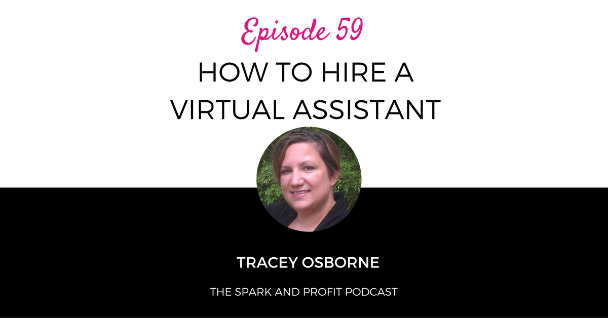 how to hire a virtual assistant - tracey osborne