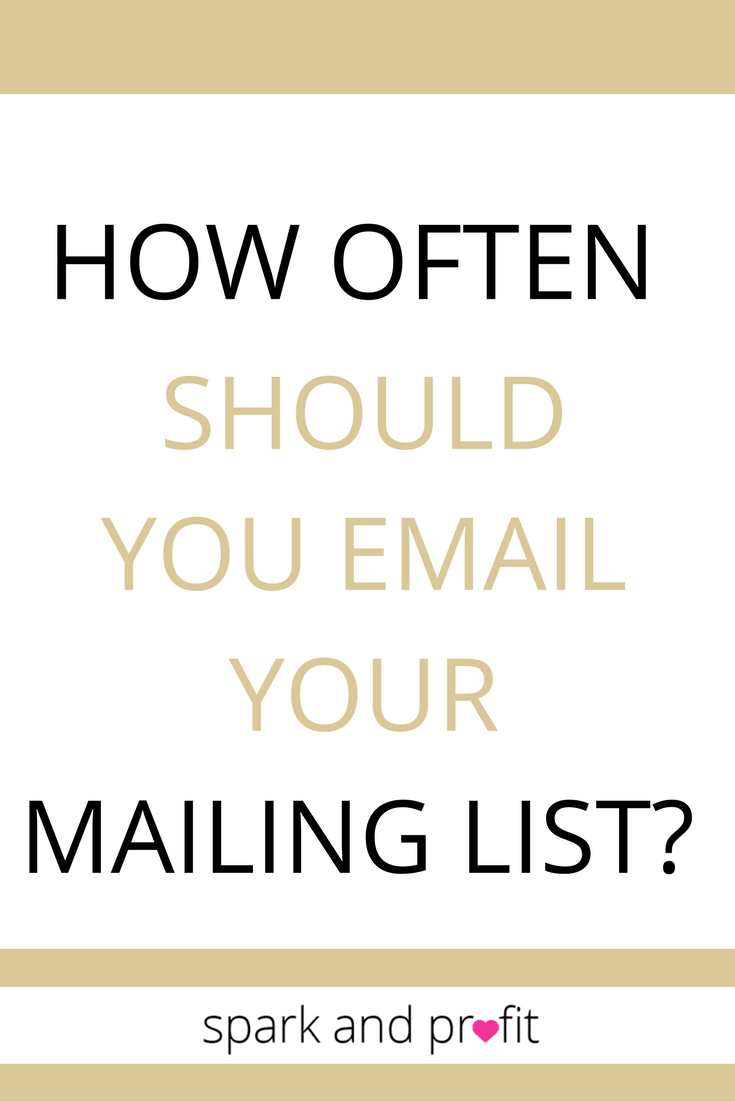 email your list - spark and profit podcast