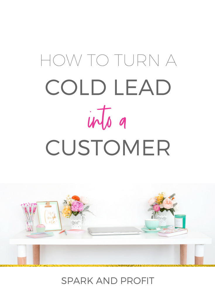cold lead paying customer