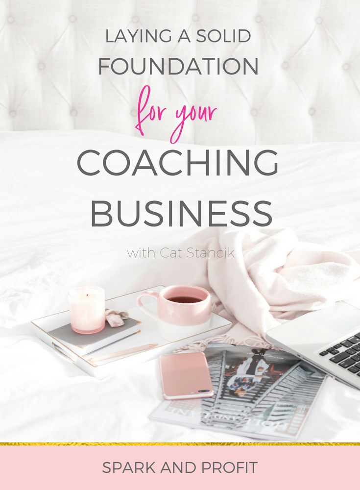 coaching business foundation