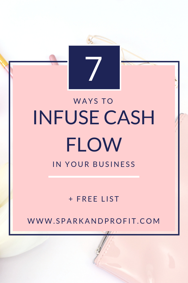 inject cash in your business