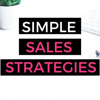 simple sales strategies