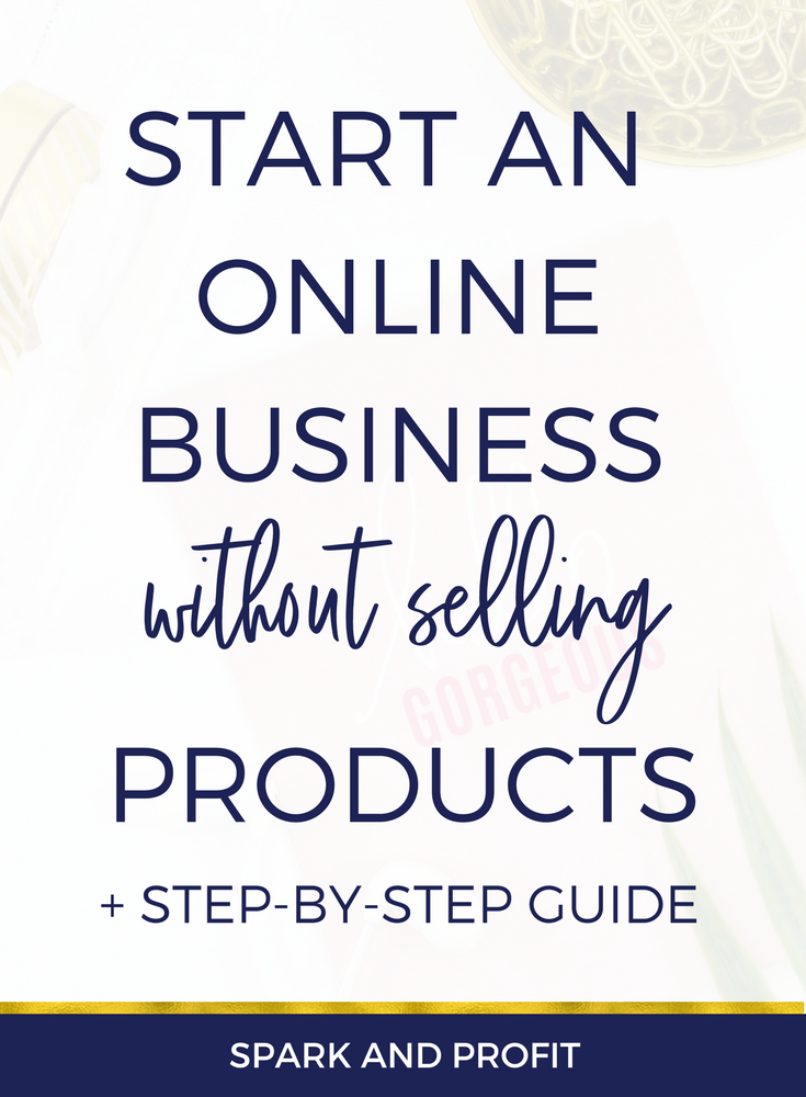start online business without selling products