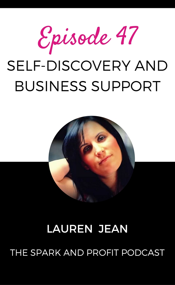 self-discovery - spark and profit podcast