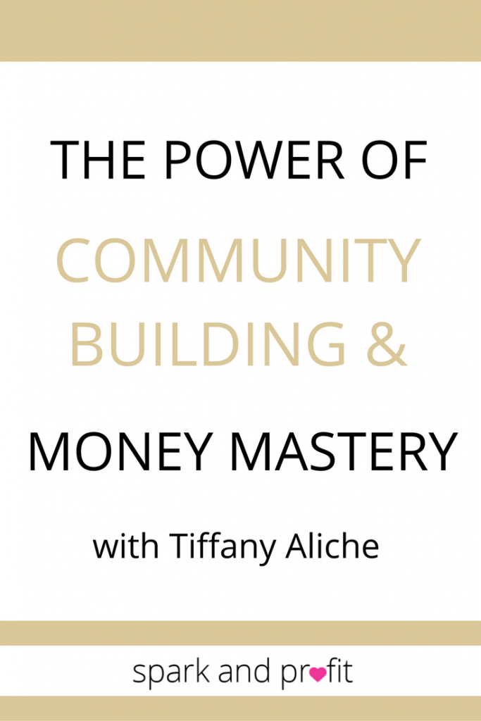 community building with Tiffany Aliche